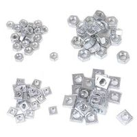 Mintcraft JL42001 Hex and Square Nut Set