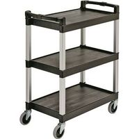 Continental 5810BK Bussing Utility Cart