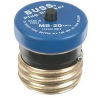 Bussmann VPKMB-20 Manual Reset Plug Fuse