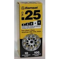 Ramset D621 Round Ten Shot Powder Actuated Load