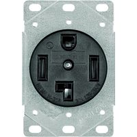 Arrow Hart 1257-SP Grounded  Electrical Receptacle