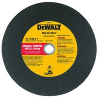 Dewalt DW8001 Type 1 Chop Saw Wheel