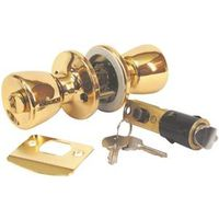 American Hardware Mobile Home D-099B 4-Way Entrance Lockset