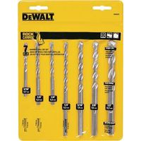 Dewalt DW5207 Percussion Drill Bit Set