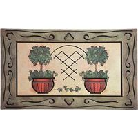 Homebasix 08ABSHE-43 Indoor/Outdoor Door Mat