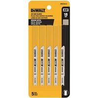 Dewalt DW3724-5 Bi-Metal Jig Saw Blade