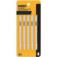 Dewalt DW3753-5 Bi-Metal Jig Saw Blade