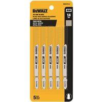Dewalt DW3770-5 Bi-Metal Jig Saw Blade