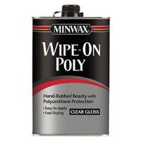 Minwax 40900000 Wipe-On Poly Polyurethane