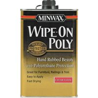Minwax 40910000 Wipe-On Poly Polyurethane