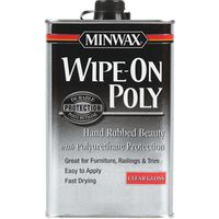Minwax 60900000 Wipe-On Poly Polyurethane