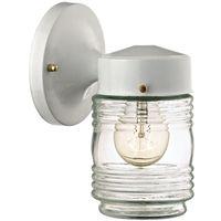 Boston Harbor W15WH01-33883L Jelly Jar Porch Light Fixture