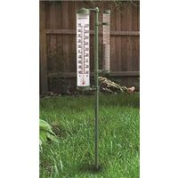 AcuRite 02345CASBA1 Swivel Rain Gauge and Thermometer