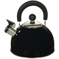 Euro-Ware 309-BK Whistle Tea Kettle