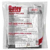 Oatey 41630 Shower Pan Liner Kit Without Dam Corners