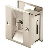 Prime-Line N 7239 Pocket Door Privacy Lock With Pull