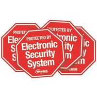 AmerTac SEC100 Security System Sticker