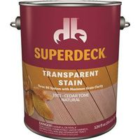 Superdeck DPI019114-16 Transparent Wood Stain