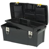 Stanley 2000 Tool Box With Tray 10.92 in W x 23.4 in D x 11.115 in H