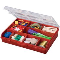 Stack-On SBR-10 Storage Box With Removable Dividers