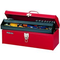 Stack-On R-519-2 Hip Roof Tool Box 19 in W x 7 in D x 7-1/2 in H