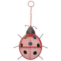 Perky Pet NO/NO Ladybug Mesh Design Wild Bird Feeder