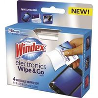 WIPE GLASS/SURFACE 4 COUNT