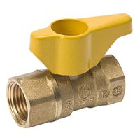 Gas Ball Valve Safe Handle 3//8 3//8 B /& K Industries 210-522RP