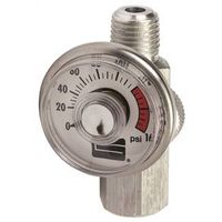 Plews 41-135 Air Line Regulator with Gauge