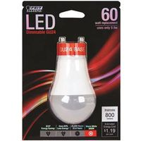Feit A19/DM/800/GU24/L Dimmable LED Lamp
