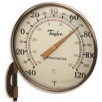 Taylor 481BZ Easy-To-Read Weatherproof Analog Thermometer