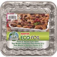 Handi-Foil 20308TL-15 Foil Square Cake Pan