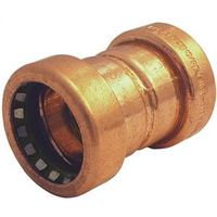 CopperLoc 900 Non-Removable Push-Fit Tube Coupling With Stop