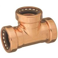 Elkhart Tectite 911 CopperLoc Non-Removable Push-Fit Tube Tee