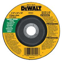 Dewalt DW4524 Type 27 Depressed Center Grinding Wheel
