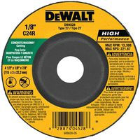 Dewalt DW4528 Type 27 Depressed Center Grinding Wheel