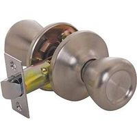 Toolbasix 5764SS-PS-BP Tulip Door Knob Lockset