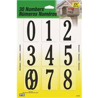 Hy-Ko MM-200B Molded Number Set