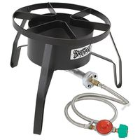 Barbour Bayou Classic SP10 High Pressure Gas Cooker With Wind Screen