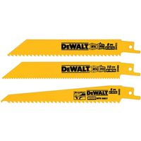 Dewalt DW4853 Bi-Metal Reciprocating Saw Blade Set