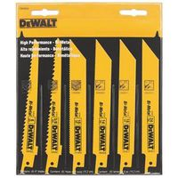 Dewalt DW4856 Bi-Metal Reciprocating Saw Blade Set