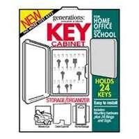 Hy-Ko KO302 Locking Key Cabinet