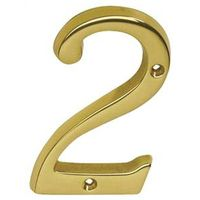 Schlage SC2-3026-605 #2 Classic Traditional House Number