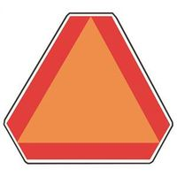 Hy-Ko TA Slow Moving Vehicle Emblem Highway Sign