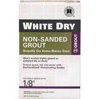 White Dry WDG5-4  Non-Shrinking Non?Sanded Tile Grout?