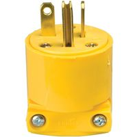 Cooper 4509-BOX Grounded Straight Electrical Plug