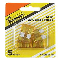 Bussmann ATC-20-RP Automotive Non-Time Delay Fast Acting Fuse