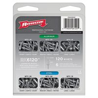 Arrow RK6120 Rivet Assortment Pack