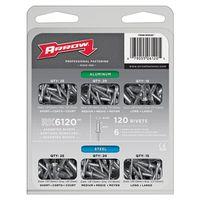 Arrow RK6120 Rivet Assortment Pack