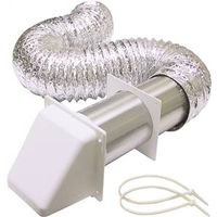 Lambro 1365W Preferred Hood Dryer Vent Kit